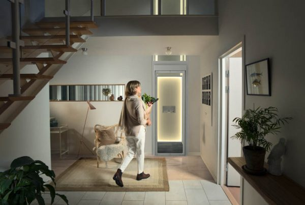 how much space do i need for a home lift