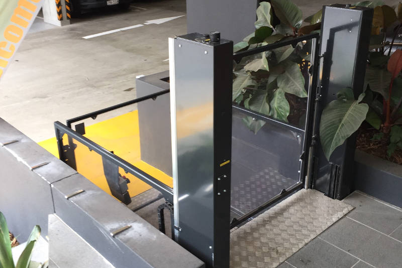 outdoor platform lifts brisbane